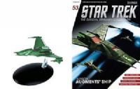 Star Trek The Official Starships Collection #53 Klingon Augment's Ship